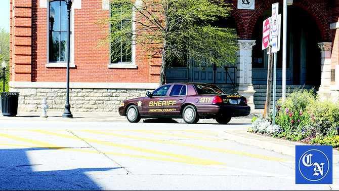 Newton County Sheriff Car---WEB