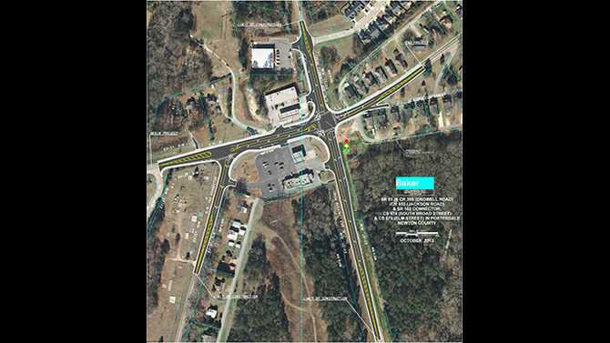 Porterdale-intersection-improvement-map