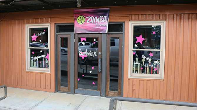 photo Starbound dance studio storefront porterdale
