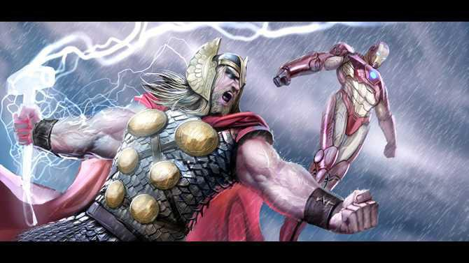 2511549-thor and ironman by nebezial