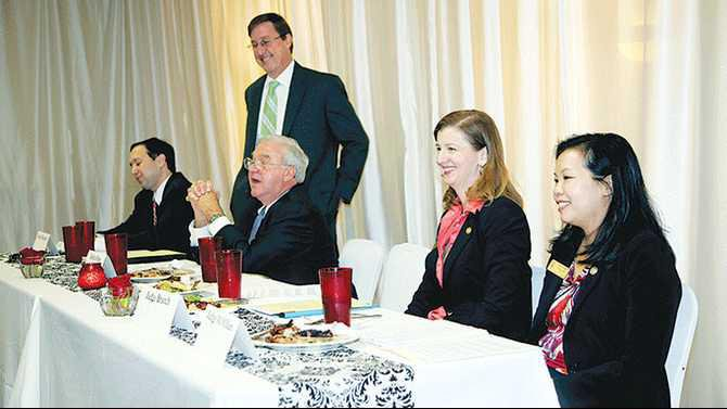 Ga-Supreme-Court-Judges-and-Appeals-Court-Judges-at-Rockdale-Bar-luncheon-10-4-13-IMG 0816