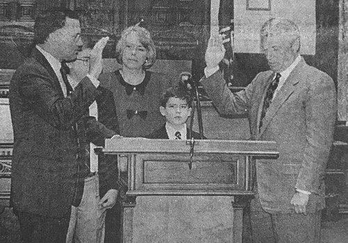Ozburn Sworn In