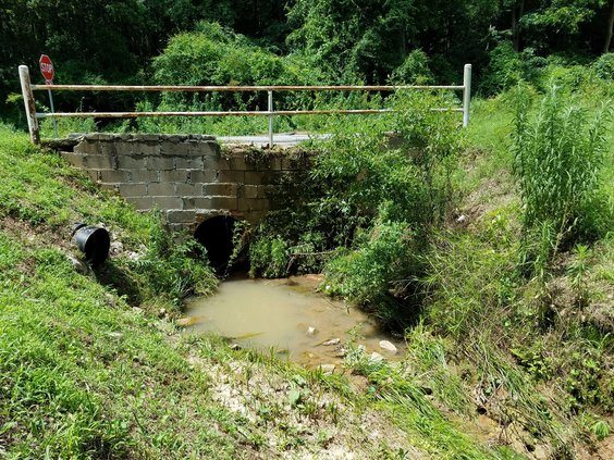 Culvert to be replaced Walnut Lackey.jpg