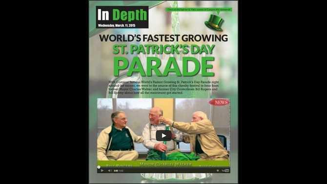 St Patricks Day Parade origins
