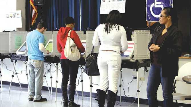 IMG 9771 at Pine Street elementary poll.