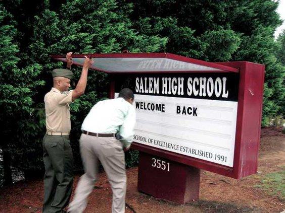 salem-high---changing-sign-
