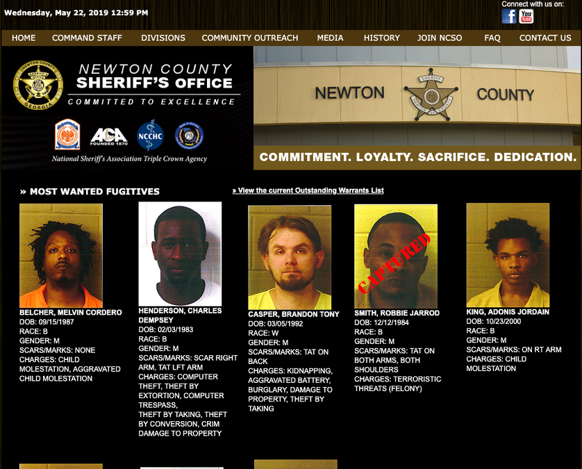 NCSO announces 'Most Wanted' listing - The Covington News