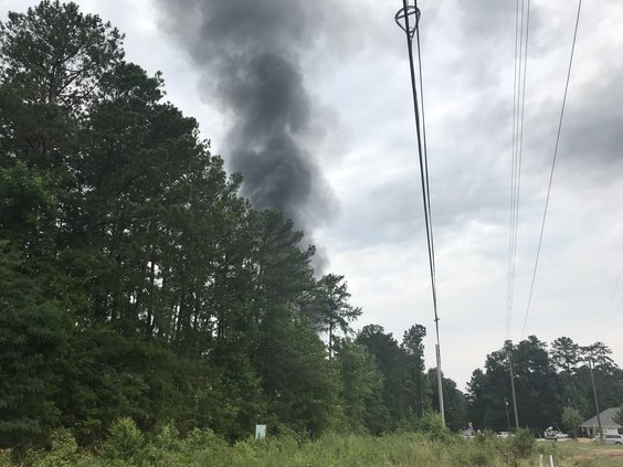 Covington fire