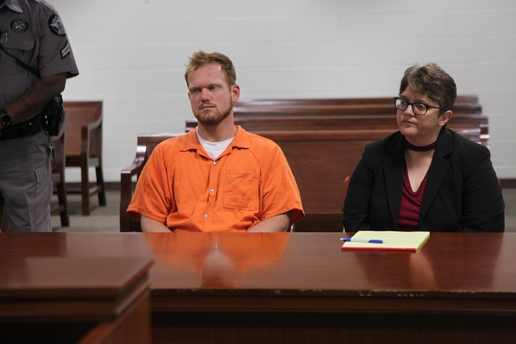 VIDEO: Murder suspect faces judge for first appearance - The